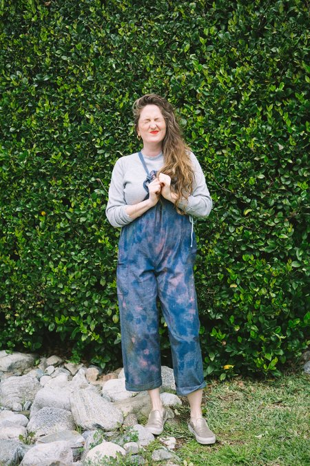 Myrtle x Parry Dodge Hand-Dyed Sloan Overalls