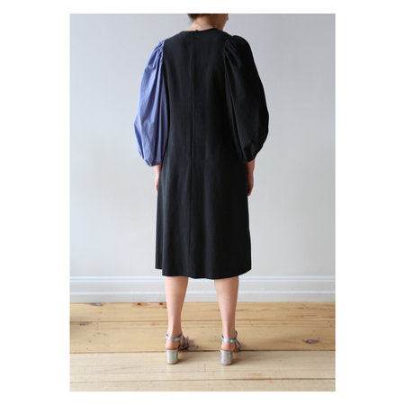 Correll Correll Bonne Dress - Black/Periwinkle