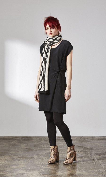H. Fredriksson TWIST DRESS - Black