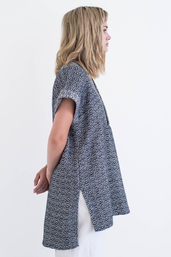 REIFhaus Porto Tunic in Wool Tweed