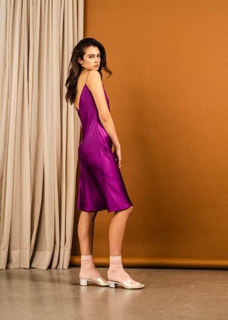 Penny Sage Duval Mini Dress - Princess Purple