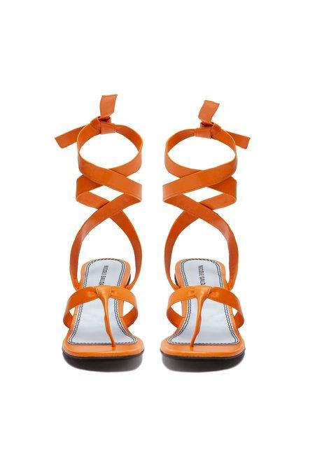 Nicole Saldana bobby sandals - clementine napa