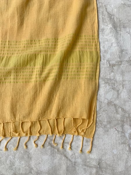 Cuttalossa & Co. Linen Runner - Marigold