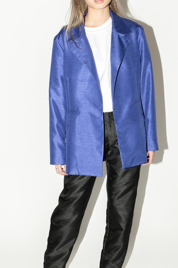 Bodega Thirteen - FW16 New Ace Blazer Cobalt