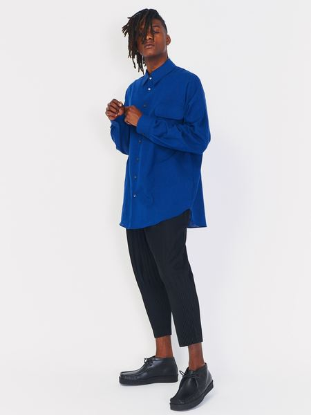 House of the Very Islands Drive Shaft Shirt Jacket - Blue
