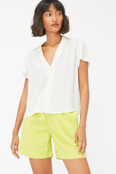 Lacausa Margot Blouse - Panna Cotta