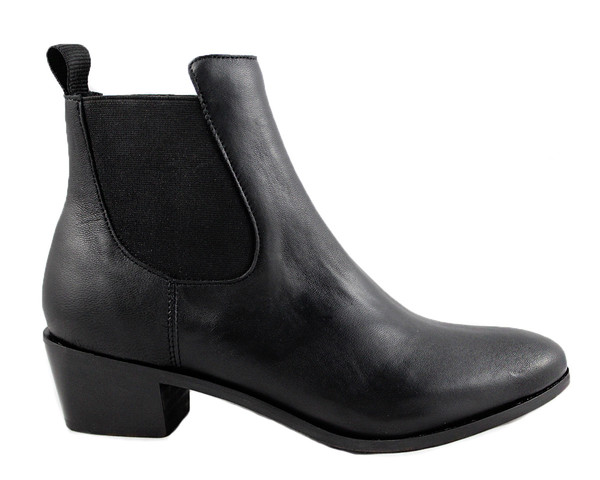 Cartel Footwear AW16 Chelsea Boot - Sarandi Black Leather