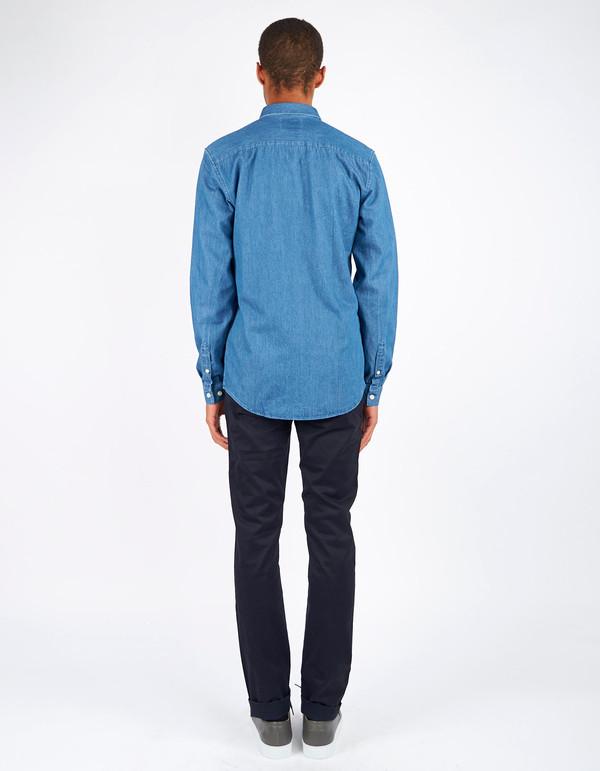 Men's Minimum Barden Shirt Medium Blue