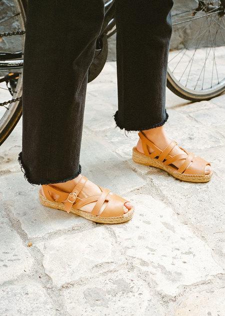 Naguisa FLECHA sandal - LIGHT BROWN