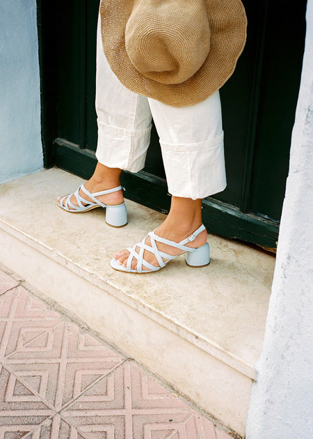 Naguisa Dolina light blue - Sandals