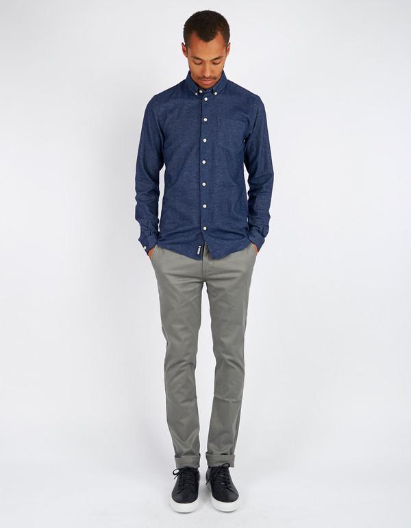 Men's Minimum Pelham Shirt Dark Iris