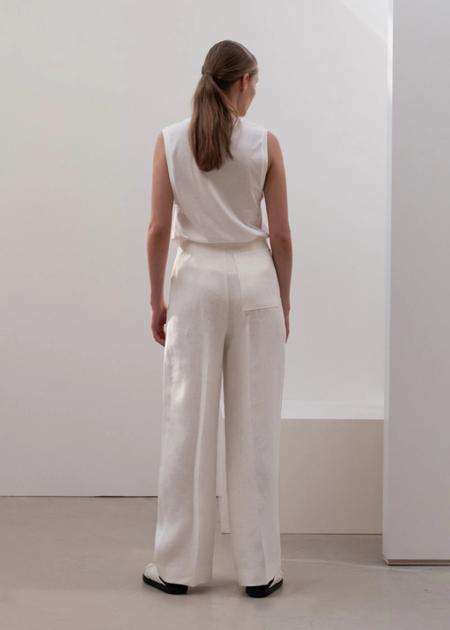 LVIR Linen Overlap Pants