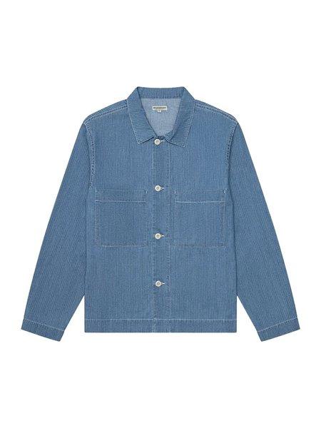 Knickerbocker Chore Shirt - Stonewash Fisher Stripe