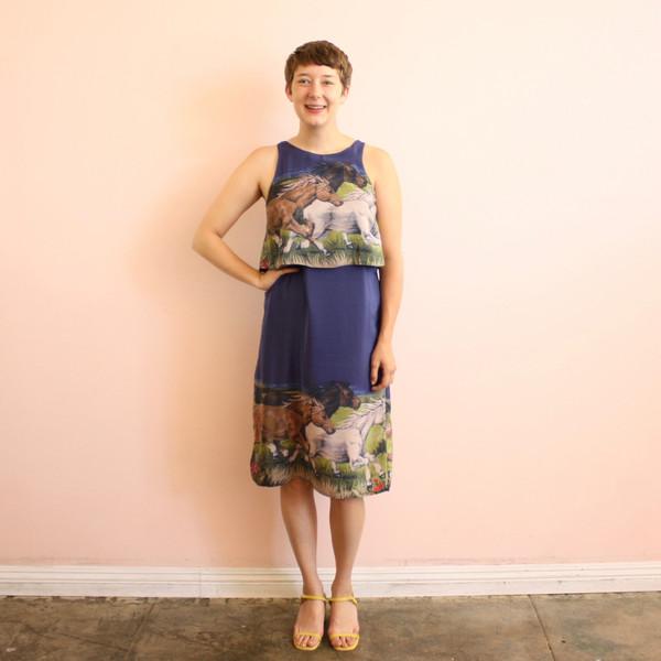 Carleen Overlay Dress