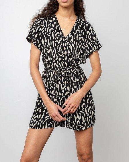 Rails Sophia Romper - Abstract Cheetah