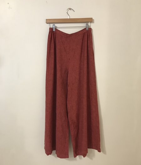 cut-loose Wide Leg Ankle Pant