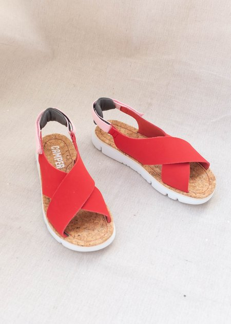 Camper Oruga Hello - Red/Pink