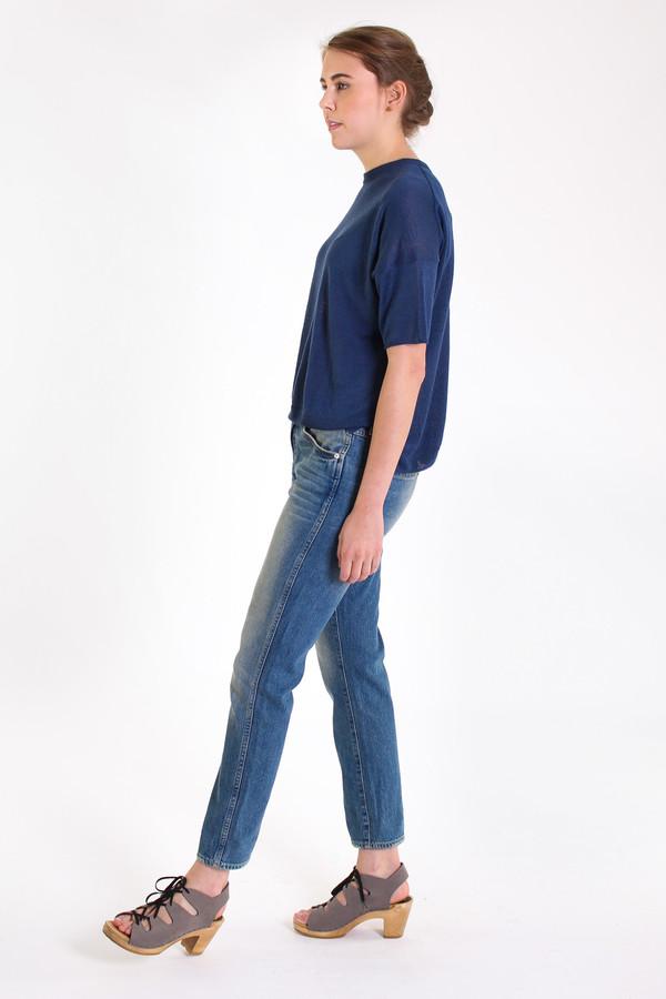 Evam Eva French pullover in Blue