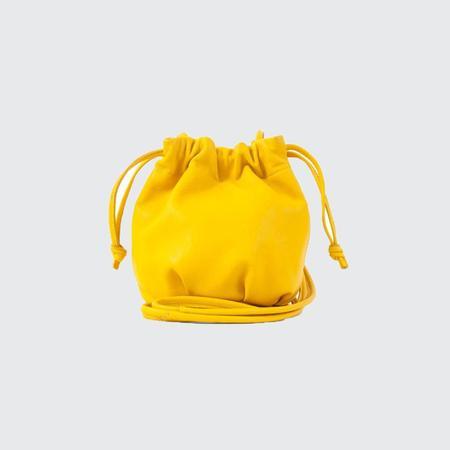 Clare V. Emma Drawstring Bag - CANARY