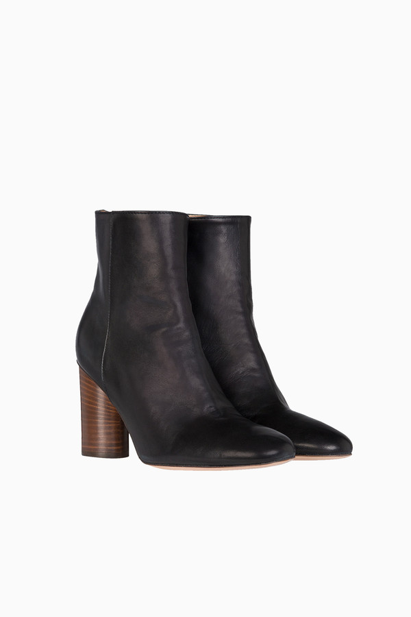 Jerome Dreyfuss Patricia heeled boot in black