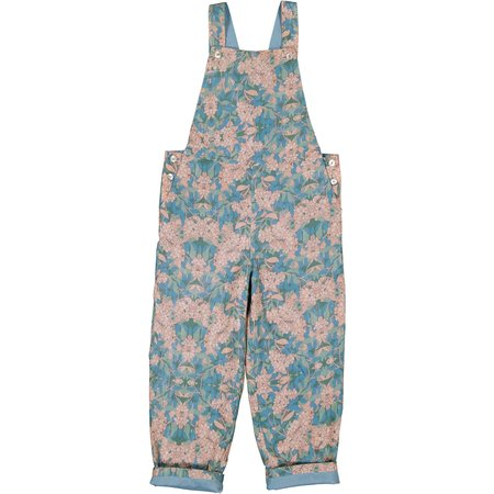 kids louis louise nathue overall - pink/blue