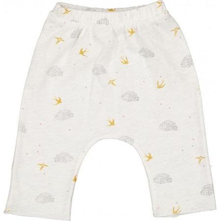 kids louis louise savane jersey birds trousers - vanilla