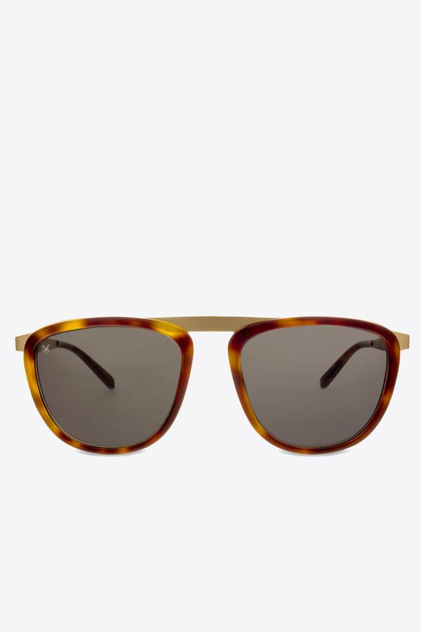 Smoke x Mirrors Pusherman sunglasses in tortoise