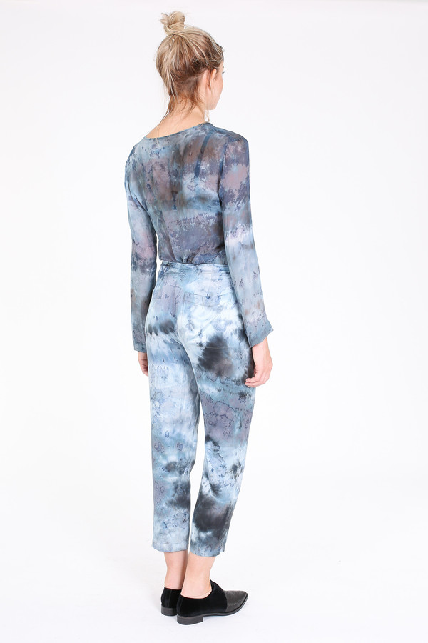 Raquel Allegra Relaxed pant in midnight