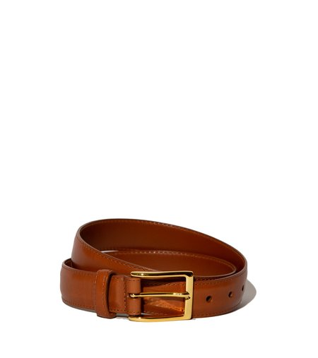 Alden Calfskin Belt - Burnished Tan