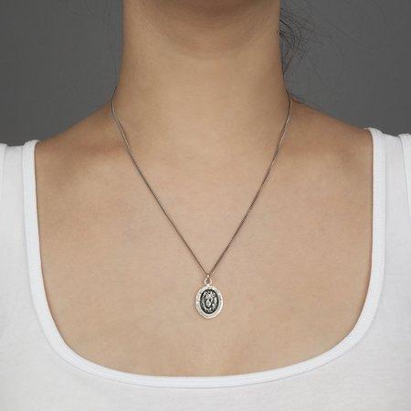 Pyrrha Lion Head Talisman - Silver