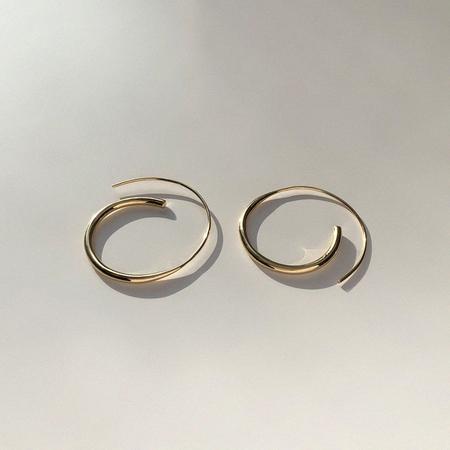 BAR Jewellery ARC Earrings - Silver/Gold
