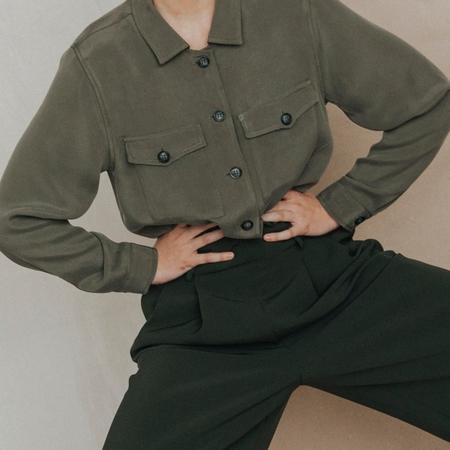 sunad KARAKUM SHIRT - Military Green