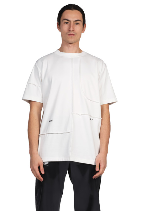 heliot emil cut-up t-shirt - off-white