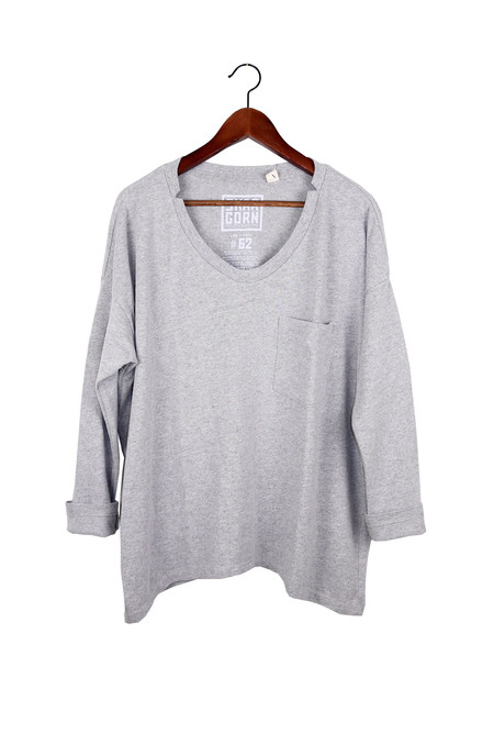 Skargorn #62 Long Sleeve Tee, Heather Wash