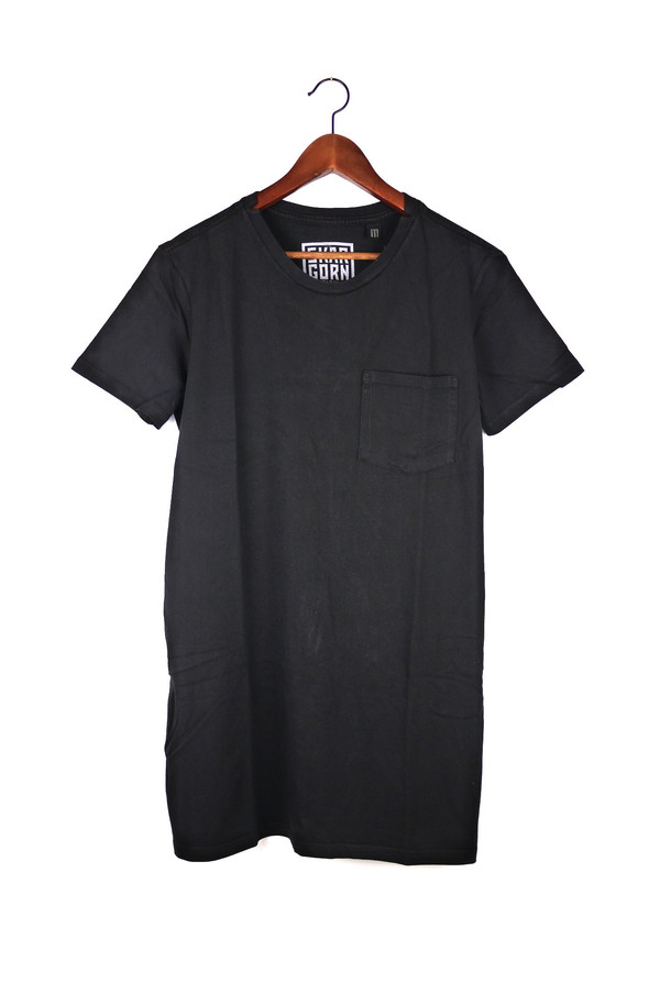 Skargorn #69 Tee Dress, Black Wash