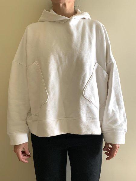 Calder Blake Arbus Hoody Sweatshirt - Chalk