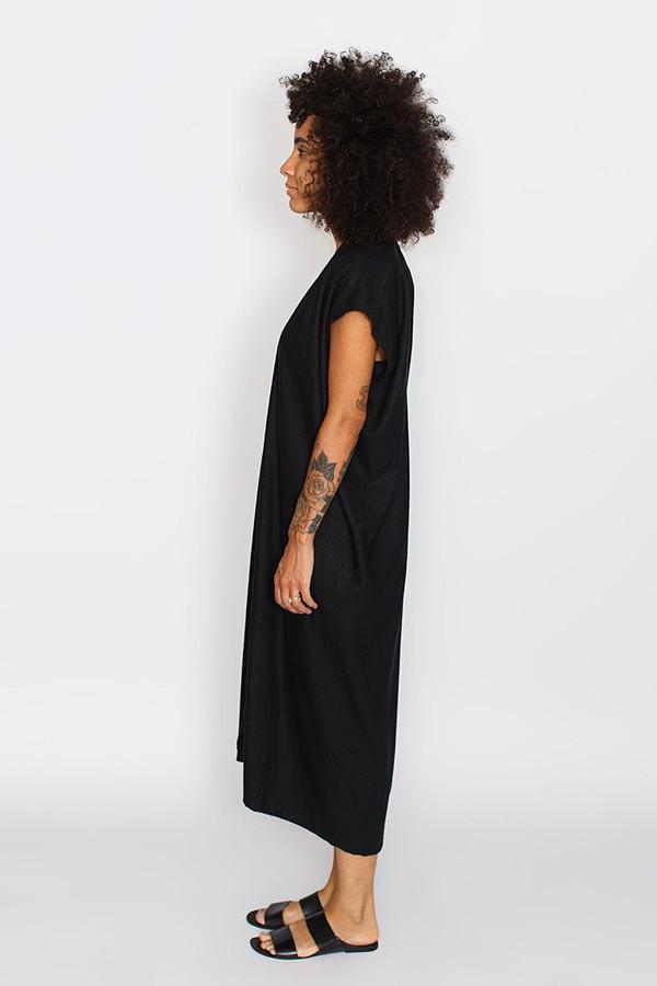 Miranda Bennett Everyday Dress, Oversized, Natural Silk Noil
