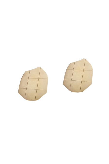 Knobbly Studio Marleigh Studs, Gold