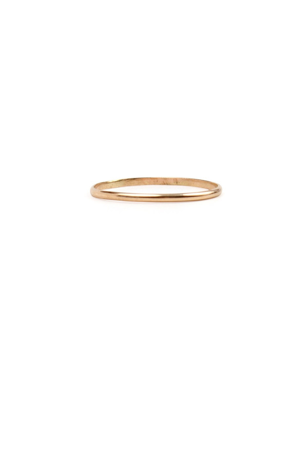 Catbird Mignon Memory First Knuckle Ring, 14K Yellow Gold