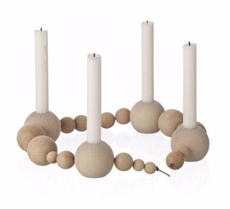 Ferm Living Candle Holder String - Neutral