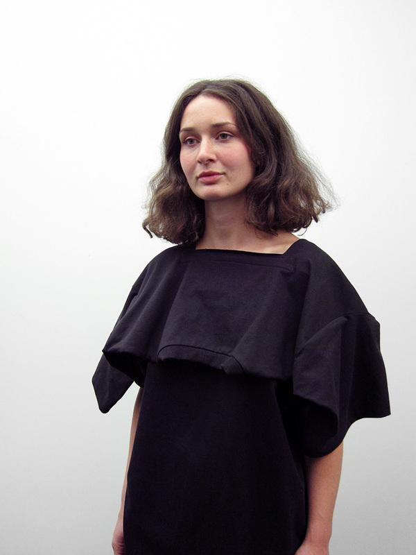 Nancy Stella Soto Jersey Tee Shirt Dress, Black
