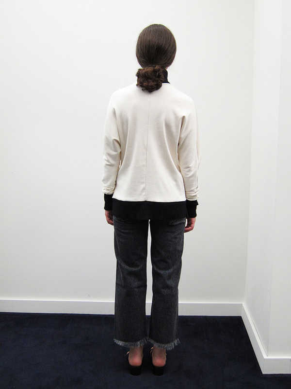 Alexa Stark Organic Cotton Long Sleeve Top