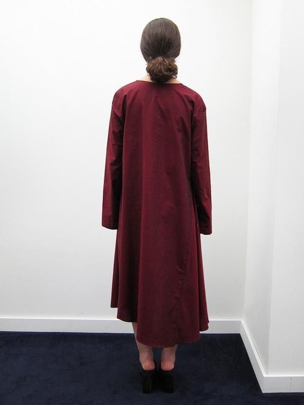 Kahle Gathered Inset L/S Dress