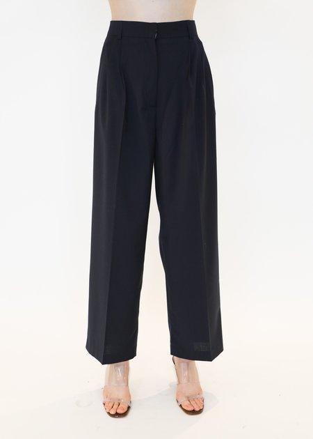 Mijeong Park Tailored Pants - Navy