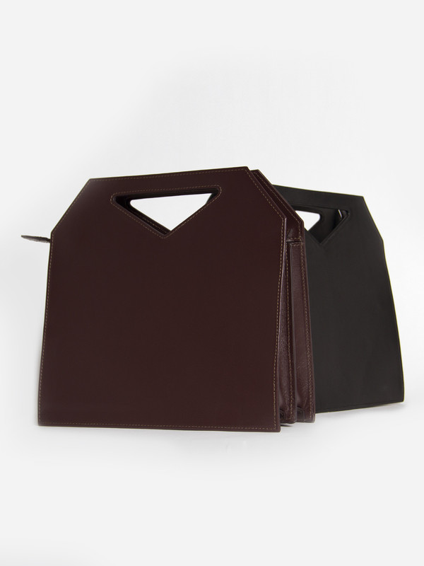 IMAGO-A Triad Bag Burgundy