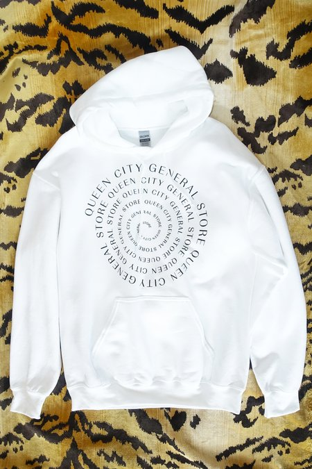 unisex Queen City General Store Spiral Sweatshirt