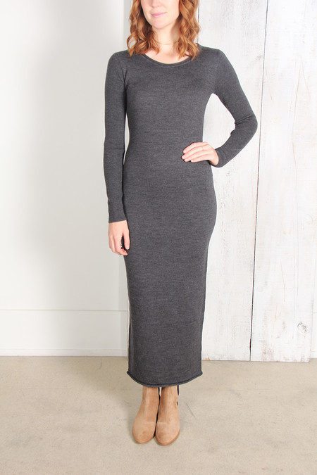 ALEXANDER WANG MERINO ROLL NECK SWEATER DRESS