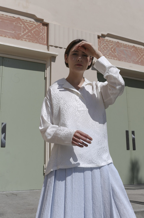 SVILU Electrician Shirt in Ivory