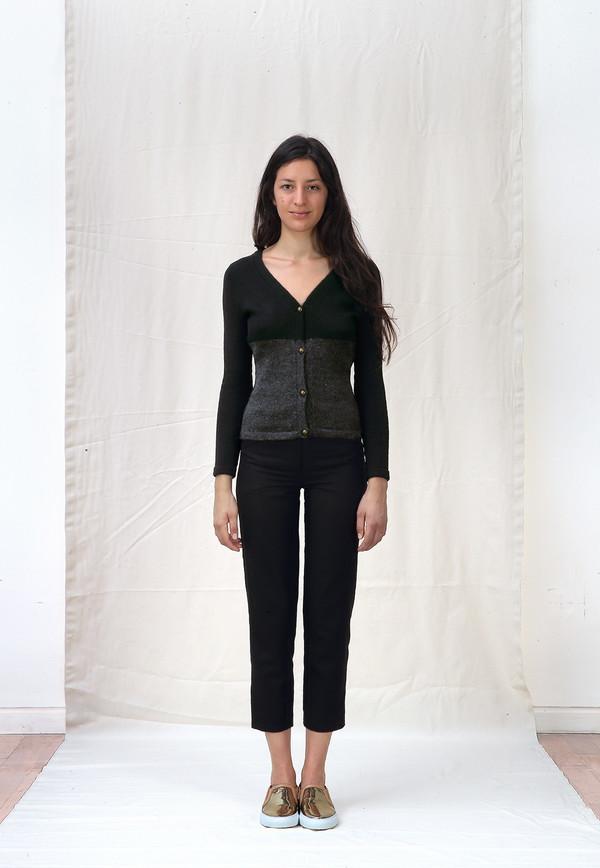 Ete Noir Wool/Silk Cardigan