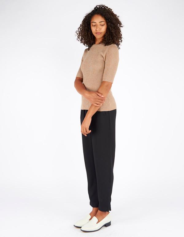 Ganni Harrison T-Shirt Brown Melange